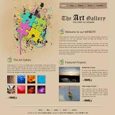 Free Template 135 Art Gallery