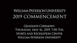 William Paterson University Graduate Commencement Ceremony