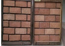 customized exterior faux brick panels thin brick veneer for fireplace tv walls decration
