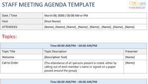 sample agendas for staff meetings sample staff meeting agenda easy featured scholarschair
