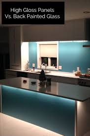 Kitchen Backsplash Panel 17 Best Ideas About Back Painted Glass On Pinterest Kitchen