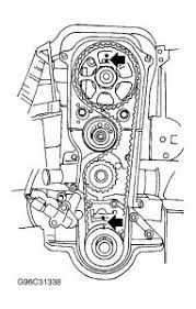 2002 ford focus timming engine mechanical problem 2002 ford focus below is the diagram for aligning the timing marks on the 2 0l sohc engine