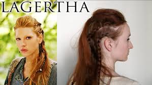 Viking Hairstyle Female vikings hair lagertha youtube 1324 by wearticles.com