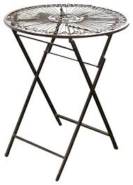 Round outdoor metal table Wrought Iron Metal Folding Table Outdoor Metal Folding Garden Bistro Table Warm Brown Metal Round Folding Outdoor Table Small Metal Folding Outdoor Table 3dcubeinfo Metal Folding Table Outdoor Metal Folding Garden Bistro Table Warm