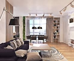 Open Space Living Room Designs A Contemporary Apartment With Lots Of Open Space