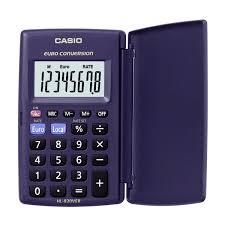 Casio Hl 820ver Lommeregner