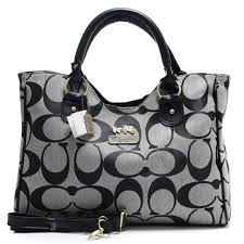 Coach Legacy In Signature Large Grey Satchels ACB DznPSZHt