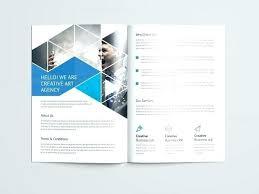 2 Folded Brochure Template 2 Fold Brochure Template Premium And Free Fold Bi Fold 2