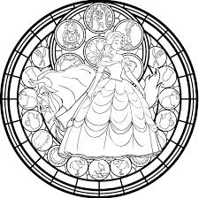 Stained Glass Coloring Books For Adults Glass Coloring Page Stained