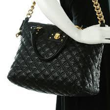 92% off Marc Jacobs Handbags - MARC JACOBS Lambskin Quilted ... & MARC JACOBS Lambskin Quilted Standard Satchel Adamdwight.com