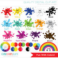 Image result for colors clip art