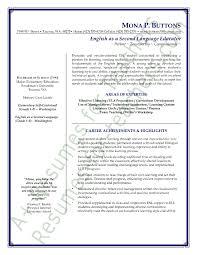 Gallery Of Teaching Resume Templates