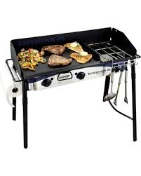 stove with griddle. Camp Chef Expedition Triple Burner Stove With Griddle