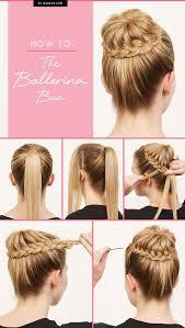 How To Do A Braided Ballerina Bun The Cool Girl Way účesy