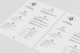 Minimalist Resume 100 gorgeous minimalist resume templates The American Genius 16