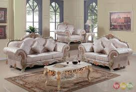 Victorian Living Rooms Traditional Victorian Formal Living Room Set Antique White Carved