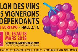 le salon des vins vignerons indépendants se déroulera à lyon en mars