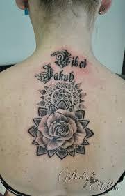 Dotwork Tetování Marťa Tattoo Studio