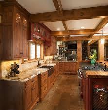 custom rustic kitchen cabinets. Kitchen : Elegant Custom Rustic Cabinets Cabinet Hickory 5
