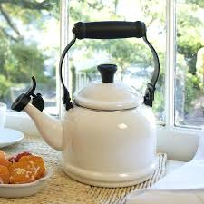 stove top teapot enamel on steel qt kettle stovetop safe glass teapot