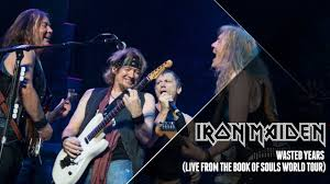 <b>Iron Maiden</b> - Wasted Years (<b>Live</b> from The Book Of Souls World Tour)