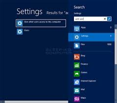 How To Create A New User Account In Windows 8