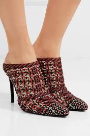 altuzarra womens davidson woven leather mules