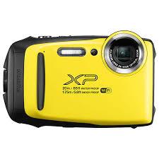 Fujifilm Finepix Xp130 Yellow W Sd Card
