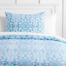 watercolor mosaic duvet bedding set with duvet cover duvet insert sham sheet set