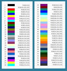 Colors Rgb Rgb Colours