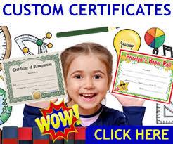 Free Printable Certificates Blank Awards Certificate Templates