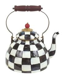 courtly check two quart tea kettle
