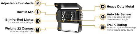 rvs 770613 backup camera system rear view safety rvs 770614 backup camera system two camera setup