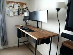 convertible standing desk diy ikea build stand up d