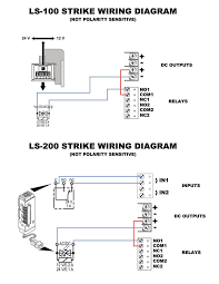 ls 100 and ls 200 strikes wiring diagram remotelock comments