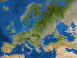map of europe if all the ice melted (sea level  m) x