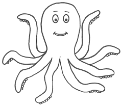 Octopus coloring page free employee write up form template,employee free download card on warning notice template