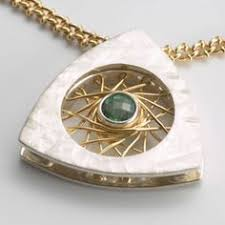 first place silver petaluma california bell design metal jewelry pendant jewelry
