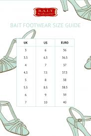 Bait Size Chart Ida Red Low Heel Pumps By B A I T