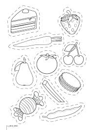 Healthy And Junk Food Worksheets Food Coloring Pictures Awesome