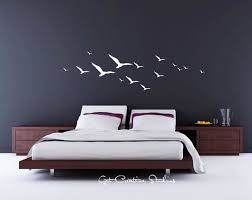 wall decal nature wall decal birds wall