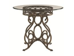 Tommy Bahama Home Landara Capistrano Dining Table With 36 Inch Glass