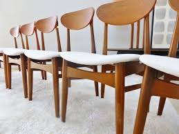 6 vine danish retro parker chiswell dining chairs new upholstery