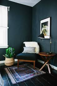 home office dark blue gallery wall. 3/8 Home Office Dark Blue Gallery Wall