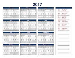 microsoft excel calendar calendar excel 2017 calendar template word