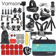 VAMSON Aksiyon Kamera Aksesuarları • Teknotiq