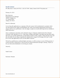 10 Cover Letter Administrative Assistant Besttemplates Besttemplates