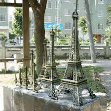 whole popular france paris 3d eiffel tower model alloy eiffel tower desk table office home decoration special gift for friend by sr catherine under