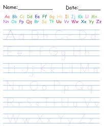 Free Printable Handwriting Practice Worksheets For Kindergarten