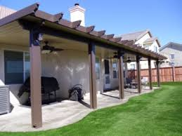 aluminum patio cover brown. Exellent Patio Decorating Cool Alumawood Patio Covers In Brown With White Covered  Doors Aluminum On Cover E